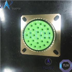 IP65 MIL-DTL-38999 Series III Connectors Aluminum Alloy / Naval Brass Shell D38999/26WF32PN