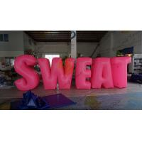 China Sweat Characters Inflatable Product Replicas Silk Screen Printing Excellent Design on sale