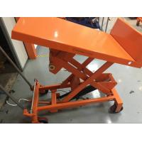 Quality High Capacity Manual Tilt Table Truck TF30F TF50F 490×550 Mm Table Dimensions for sale