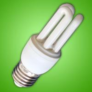 Quality 3u 9watt Energy Saving Daylight Bulbs Lamps For Family / Office , 3300k E27 E14 B22 for sale