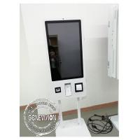 China 32 Inch Self Service Payment Terminal Food Kiosk 1920 * 1080 Resolution With 5MP Camera on sale