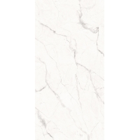 Quality Hotel Project White Home Wall Decoration 9mm Marble Look Porcelain Tile for sale