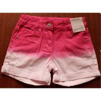 Quality Primark Denim girl's shorts inventory ,Cheap Faded dyeing hot pants,children denim pant for sale