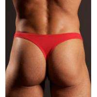 Quality Spandex / Cotton Red Eco Friendly Sexy Mans Jockstrap Underwear for Summer for sale