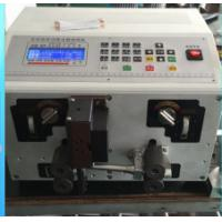 Quality Cutting and striping machine machine for Sleeve tube cable XC-220 AWG10 to AWG32 0.20~2.5 for sale
