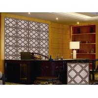 Quality Leather Home Decor Wallpapers Home Decoration Accessories , Customized 3D Wall Panel for sale
