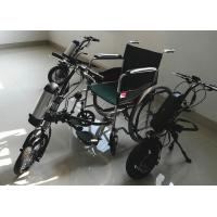 Quality Portable Electric Wheelchair Conversion Kit Maneuverable Easy Steering for sale