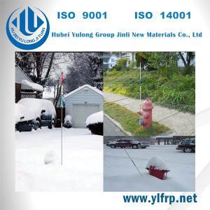 Quality Fiber Reinforced Plastic Rod Roadside Marker / Driveway Marker / Fiberglass Marker for sale