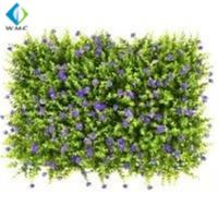 UV Resistant Artificial Grass Wall , PE Material Artificial Fence Roll for sale