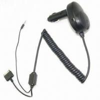 Quality Plug-in Car Handsfree Kit and Car Charger for Apple