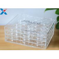 Quality Custom 3 Layer Plexiglass Display Box False Eyelash Packaging Case Without Recycle for sale