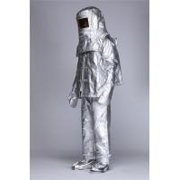 Quality Fire Protective Garment  Aluminized Fire Proximity Suit Flame Retardant Workwear for sale