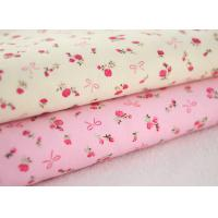 China Good soft Floral Stretch Corduroy Fabric Cloth For Baby Children on sale