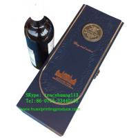 Quality Wine Boxes with Foil for sale