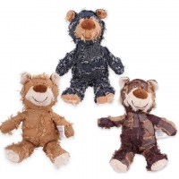 China 25cm Squeaky Stuffed Pet Plush Toy on sale