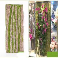 Real Touch Dired Flower Artificial Vertical Garden Tree Bark Natural Colour for sale