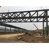 China Structure Steel Frame Overhead Corridors Gallery Bridge Connecting Buildings Earthquake Resistance on sale