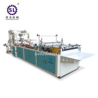 Buy Slef-closing zipper bag making machine automatic polythene 12.8kw Power at wholesale prices