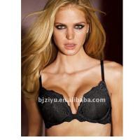 Buy Black G H I J / K cup Hand Wash Breathable OEM Padded Plus Size Convertible Bra For Ladies at wholesale prices