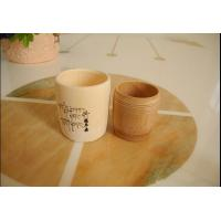 Quality natrue  bamboo cup for sale