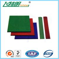 Quality Wear Resistance Outdoor Playground Rubber Tiles , Safety Kids Floor Pads for sale