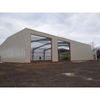 Quality Galvanized Or Painting Warehouse Steel Structure / Metal Building Structure for sale