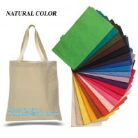 Quality Promotional Reusable Eco Bags Handle Shopping Canvas Cotton Tote for sale