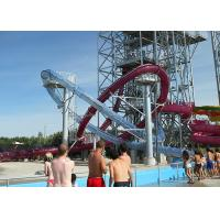 Quality 1 Rider Load Water Slide Pipe Products Play Equipment High Temperature Resistance for sale