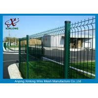 Quality Galvanized 3D Curved Wire Mesh Fence / Welded Wire Mesh Fence 4/5mmx200x50mm for sale