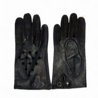 Quality Military Leather Driving Gloves, Made of Goatskin for sale