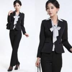 China Fashion Style Lady′s Office Uniform on sale
