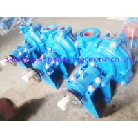 China A05 Chrome Lined 6 / 4 D Ah Heavy Duty Mud Pump , Professional Industrial Slurry Pump on sale