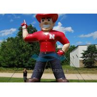 Buy 4m Decorative Inflatable Cartoon Characters Colorful With Durable PVC Tarpaulin at wholesale prices