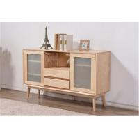 Quality Simple Dining Room Storage Cabinet , Frosted Glass Door Storage Cabinet 600H for sale