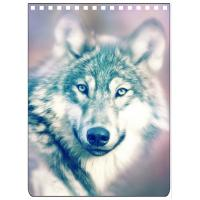 China Custom A4 A5 A6 Wolf Images 3D Lenticular Cover With PET / PP Friendly Material on sale