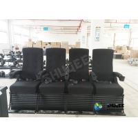Buy cheap 4D Cinema 4D Movie Theatre Equipment With Motion Chair 3 / 4 / 5 Seats A Set product