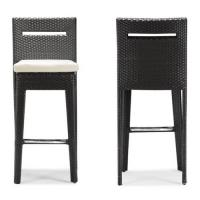 Quality TF-9303 morden pool side PE rattan/wicker bar stool furniture for sale