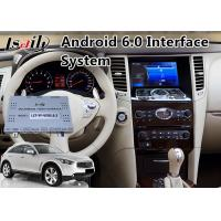 Quality Android 6.0 Car GPS Navigation for 2008-2013 Year Infiniti FX35 / FX37 , Video Interface for sale