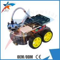 Quality 4WD Car Ultrasonic Line track Obstacle Avoidance Anti drop Smart Car Robot Kit for sale