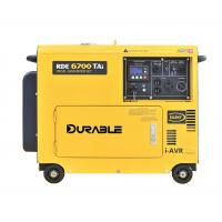 Top quality 5kVA silent diesel generator with digital control panel and iAVR made in Wuxi
