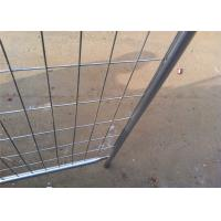 China Anti Aging Portable Interlocking Fence Panels Temporary Fence Panels For Rent on sale