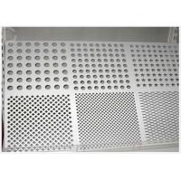 Quality Round Hole Perforated Aluminum Plate , 3003 H14 Aluminum Sheet With Holes for sale