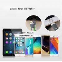 China ANQUEUE new product multi-colors TPE 2 in 1 USB cable for iphone and Galaxy on sale