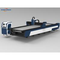 Quality Stable Metal Fiber Laser Cutting Machine , Cnc Metal Laser Cutting Machine Z Axis for sale