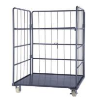 Buy cheap Steel Roll Container-Folding -Warehouse-Storage-Rolling cage container-Trolley. from wholesalers