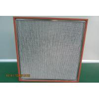Buy cheap H13 Air Purifier Hepa Filter High Operating Temperature Resistance from wholesalers