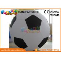 Quality Durable Advertising Inflatables Helium Soccer Ball For People ROHS EN71 for sale