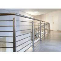 Quality Easy Installation Stainless Steel Railing With Brushed / Mirror Surface Treatments for sale