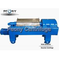 Waste Water Decanter Centrifuges For Steel Factory Sludge Dewatering for sale
