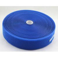 Quality Blue Unnapped Loop velcro tape for sale